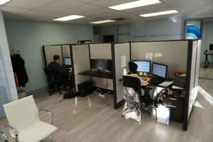 Office Cubicles for 6 People - Great Condition - $500 (Richmond)