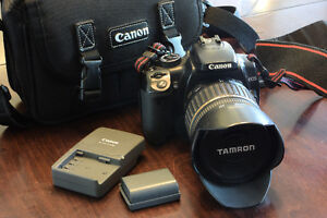 Canon EOS XTi digital Camera and Tamron SP 17-50 f2.8 lens