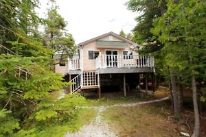 240 FT WATERFRONT BUNGALOW ON DOUBLE LOT