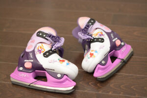 Toddler Princess Adjustable Skates
