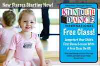 Kinderdance now offering Yoga for children ages  3-12