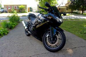 2008 Kawasaki Ninja 250R- Black, Well Maintained