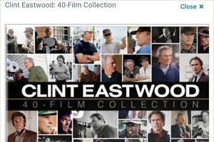 * Clint Eastwood 40 Film Collection * Peterborough Peterborough Area image 1