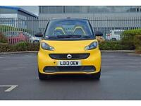 2013 SMART FORTWO CABRIO Smart Fortwo Cabrio Cityflame mhd 2dr Softouch Auto