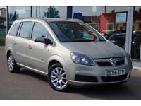 2006 VAUXHALL ZAFIRA 1.6i Club LOW MILES, AIR CON and 16andquot; ALLOYS