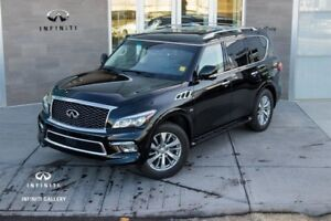 2016 Infiniti QX80 8 PASSENGER, $299 BW, LOADED,  # 403-466-3469