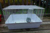 White small animal cage