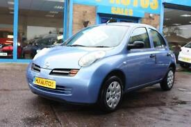 2004 54 NISSAN MICRA 1.2 S 5 DOOR 80 BHP IN GREAT CONDITION FOR YEAR!
