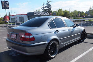 2004 BMW 325XI Sedan All wheel drive