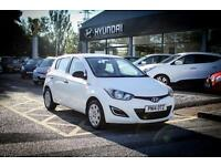 2014 14 HYUNDAI I20 1.1 CRDi Blue 5dr in Coral White
