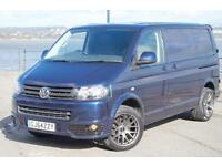 2014 64 VW TRANSPORTER T5 102 TDI SWB T28 HIGHLINE AIR-CON NIGHT BLUE T5.1 GP