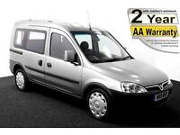 2011(11) VAUXHALL COMBO 1.3 CDTi TOUR ESSENTIA AUTO LOW FLOOR WHEELCHAIR ACCESS