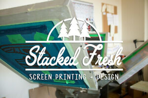 Local Screen Printing - Custom Shirts, Sweaters, Bags, Etc...