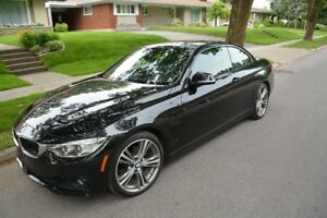 BMW 428i, 2014 CABRIOLET, 53000kms.  Condition A1