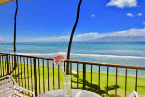 West Maui @ Kaanapali Papakea F205 Oceanfront Remodeled Condo