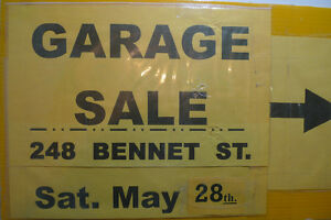 Sat. 28th. May .. Garage Sale .. 248 Bennet St. .. Peterborough