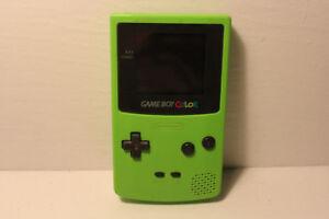 Nintendo Gameboy Color Kiwi