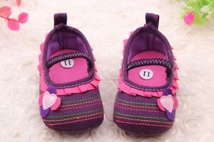 Baby crib shoes Size 1, Size 2,