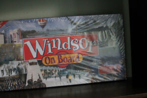 Monopoly Board Game Canada Windsor County & Essex County On Boar