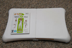 Wii Fit Plus - Software and Balance Board. Like new.