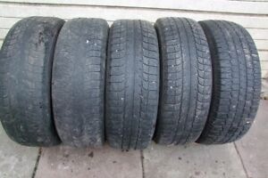 4-235/70R16 M+S MICHELIN/BFGOODRICH WINTER TIRES