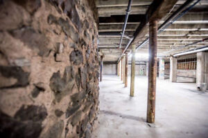 Historic Downtown Basement Environment Space for lease