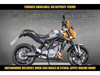 2014 64 KTM DUKE 125CC 0% DEPOSIT FINANCE AVAILABLE
