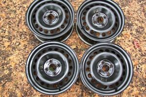 "4-15"" STEEL 4 BOLT x 100MM RIMS"