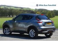 2016 Nissan Juke 1.2 N-Connecta Dig-T 5dr Petrol grey Manual