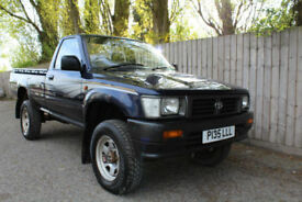 1996 P Toyota HI-LUX 2.4 DIESEL PICKUP 4X4 72k 1 FAMILY OWNED RARE ORIGINAL