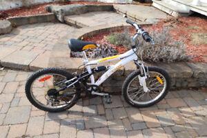 Bicyclette roues 20 pouces pour enfants