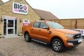 2017 FORD RANGER WILDTRAK 4X4 TDCI 200 DOUBLE CAB PICK UP DIESEL