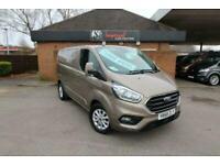 2018 Ford Transit Custom 2.0 EcoBlue 130ps Low Roof Limited Van 5 door Panel ...