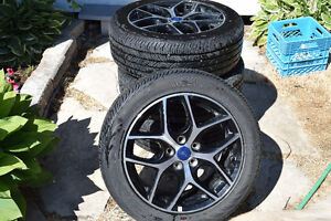 "Beautiful 17"" Summer Rims And Tires Kitchener / Waterloo Kitchener Area image 2"