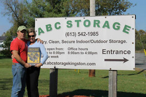 Self Storage-Abc Storage Dry, Clean, and Secure Kingston Kingston Area image 5