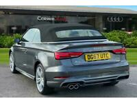2017 Audi A3 Cabriolet S line 1.5 TFSI 150 PS 6-speed Cabriolet Petrol Manual