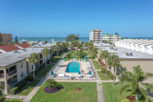 Waterfront condo, Indian Shores, Fl. - January 2020