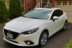 Lease take over with $2000 cash incentive: Mazda 2016 GT White