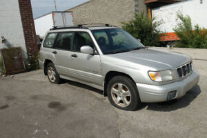 2001 Subaru Forester Complete Part Out ** For Parts ONLY**