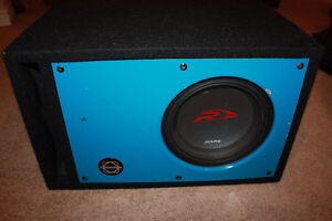 Alpine Type R Subwoofer in box with Amp