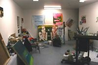 ART STUDIO Space available March 1st