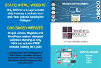 Website Design and Graphic Design Services