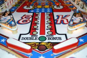 Bally EVEL KNIEVEL Pinball Machine - FULL RESTORATION!
