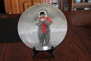 COLLECTIBLE PLATE - WINTER ANGEL