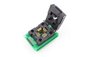 TQFP44 QFP44 LQFP44 To DIP40 IC Programmer Adapter Test Socket 0.8mm Pitch