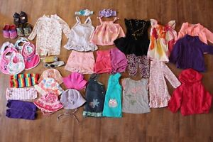 6-12 months Baby Girl Clothing Lot (31 Items)