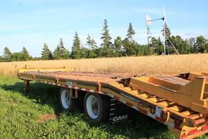 For sale 20 ton tag trailer like new taking offers