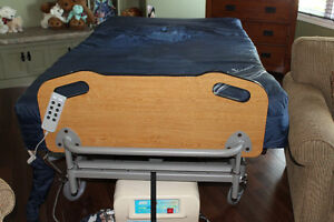 Air Mattress with Hospital Bed Frame