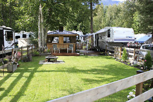 Premier RV site at Shuswap Falls RV Resort - Lot 42