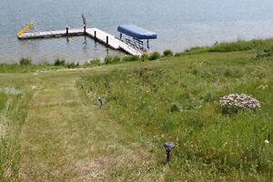 Summer Waterfront Campsite
